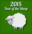 Chinese new year of the sheep 2015 vector