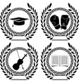 Set of symbols of achievement vector