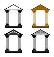 Decorative arches vector
