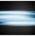 Shiny blue background vector