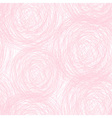 Pink - white scribble seamless pattern vector