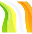 Creative flag of ireland vector