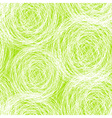 Green - white scribble seamless pattern vector