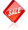 Sale button vector