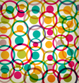 Target circles seamless texture background vector
