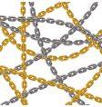 Chain web vector