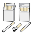 Pack of smokes vector