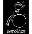 Aerobics vector