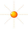 Sunny climate vector