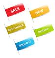 Sale stickers vector