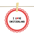 I love switzerland4 vector
