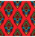Festive seamless floral pattern vector