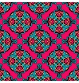 Festive pink abstract circle pattern vector