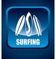 Surf design vector