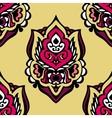 Seamless vintage floral damask design vector