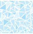 Sharp shapes blue triangles vector