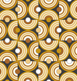 Circle background pattern vector