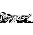 Black and white graffiti background vector