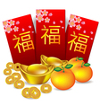 Chinese new year red packet vector