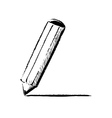 Pencil fast doodle vector
