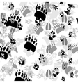 Traces of animals vector