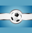 Abstract football design vector