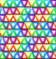 Seamless geometric pattern with triangles in vector
