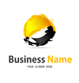 Business web icon and logo vector