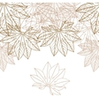 Autumn braun leaves background - vector