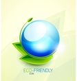 Green concept icon vector