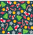 Christmas seamless wallpaper vector