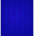 Seamless blue retro pattern background vector