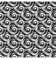 Design seamless monochrome circle pattern vector