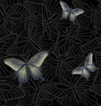 Wallpaper - background with a butterfly vector