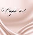 Elegant pink satin texture vector