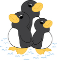 Penguin friends vector