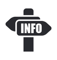 Info sign icon vector