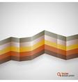 Color stripes vector
