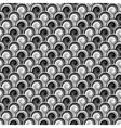 Design seamless monochrome whirlpool pattern vector