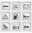 Dashboard icons set 2 vector