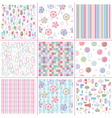 Sweet patterns vector