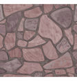 Seamless texture of stonewall vector