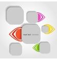 Modern object design eps10 vector
