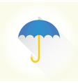 Pencil umbrella vector