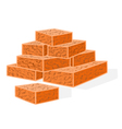 Bricks-building-material vector
