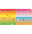 Color squares background vector