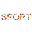 Sport word vector