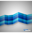 Blue stripes vector