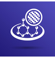 Carbon organic element molecule science background vector