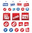 Shopping signs vector
